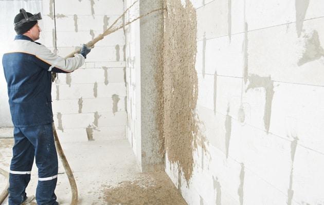 Isoler des murs à la côté intérieure