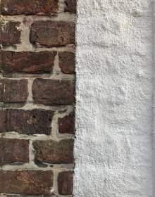 mur extérieur chaux