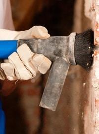 Rénovation de façade: le sablage