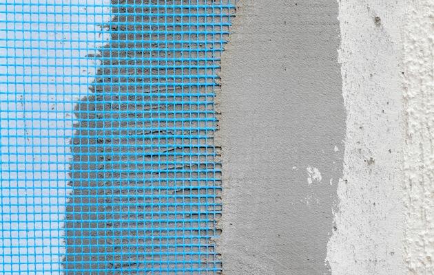 R novation de fa ade avec cr pi et isolation prix par m tre carr - Comment peindre une facade crepi ...
