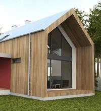 travaux de façade: du bois
