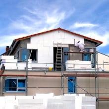 Isolation façade extérieure