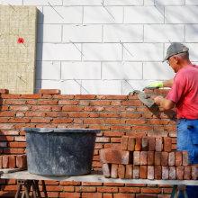 Maçonner mur - isolation façade