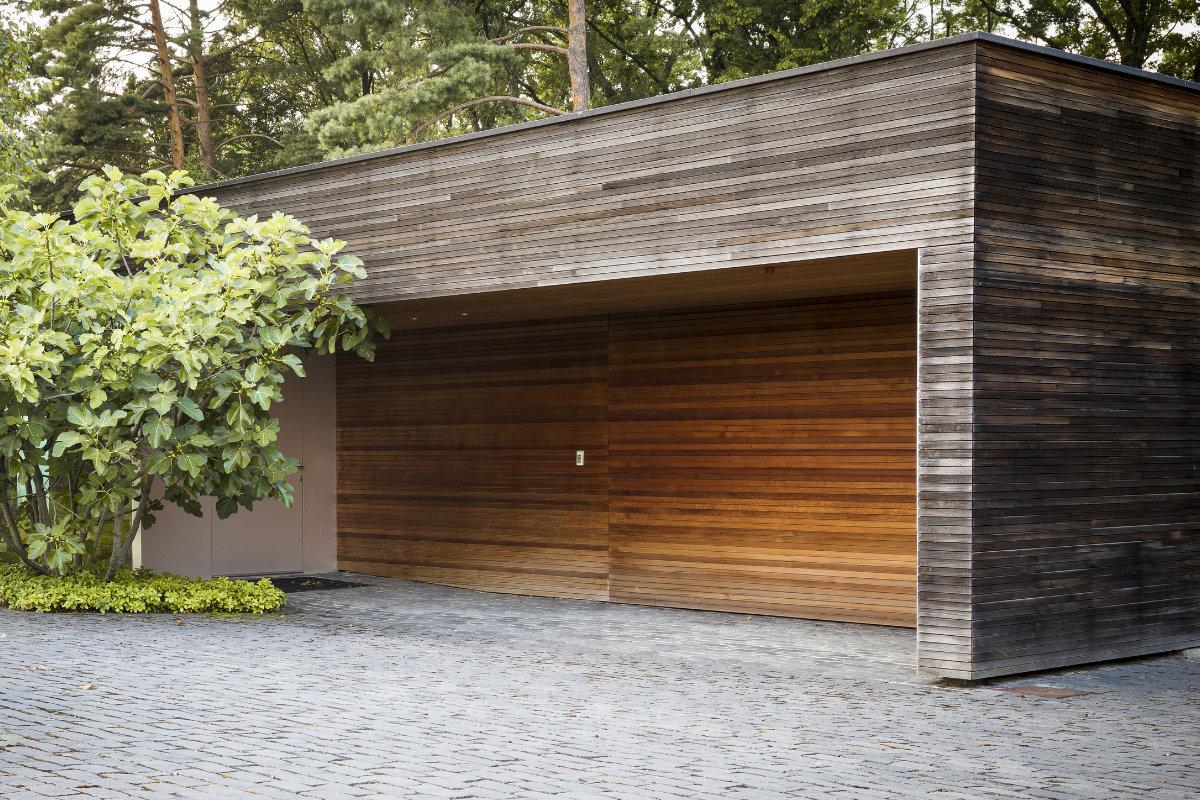 bardage bois profile cubique